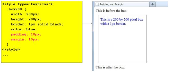 padding-margin